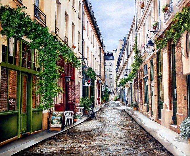 Улицы парижа картинки