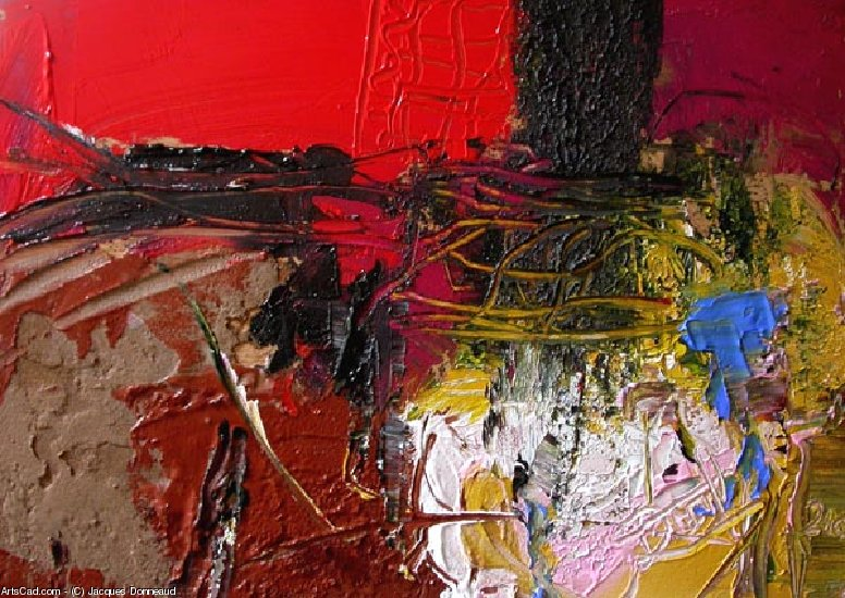 Oeuvre >> Jacques Donneaud >> Abstraction I