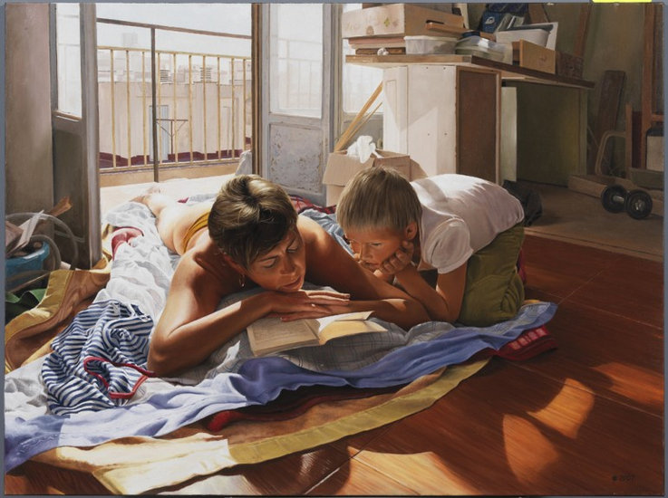 Oeuvre >> Alexander Seliverstov >> repos temps