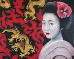 Chrystel Mialet - Geisha - Dragons