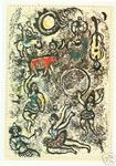 James Stow - marc chagall - les saltimbanques - Ltd edition lithographie