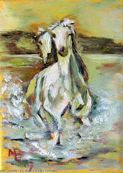 Oeuvre >> Marie-Christine Gonzales >> CHEVAUX