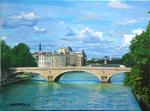 Jean-Louis Barthelemy - Paris - Le Pont Louis Philippe