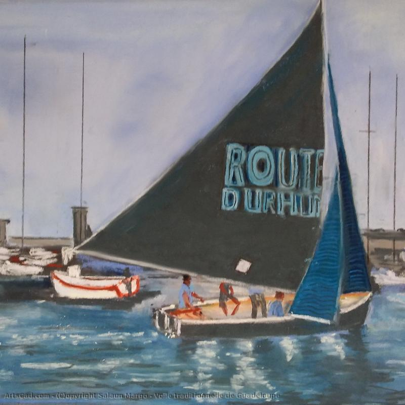 Oeuvre >> Salaun Margo >> Voile traditionnelle de Guadeloupe
