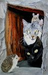 Chantal Rousselet - Chats