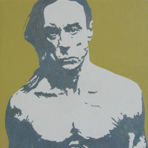 Oeuvre >> 1 Portrait Pop Art >> Iggy Pop