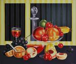 Varvara Stylidou - Still Life With Les fruits du jardin