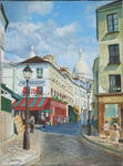Jean-Louis Barthelemy - Paris - Montmartre, rue Norvins