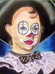 Chris, Dessinatrice, Portraitiste - le clown pleureur
