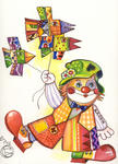 Oxana Zaika - CHAT clown/vendu