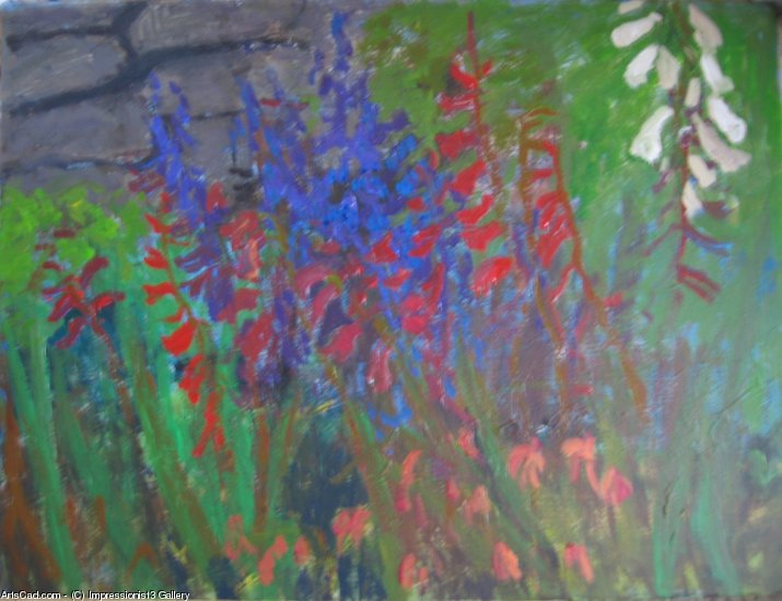 Oeuvre >> Impressionist3 Gallery >> le jardin