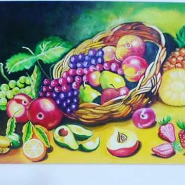 Oeuvre >> Arney Cardenas >> fruit et davantage  fruits