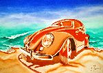Loraine Yaffe - old volkswagen with shadow ( VW )