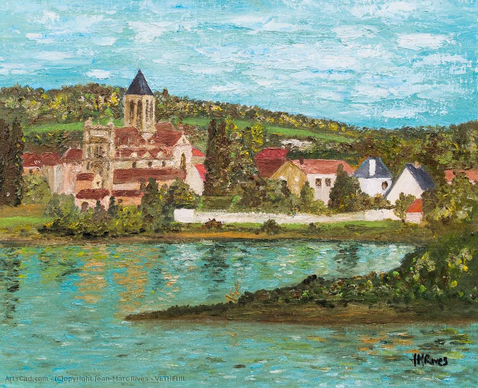 Oeuvre >> Jean-Marc Rives >> VETHEUIL