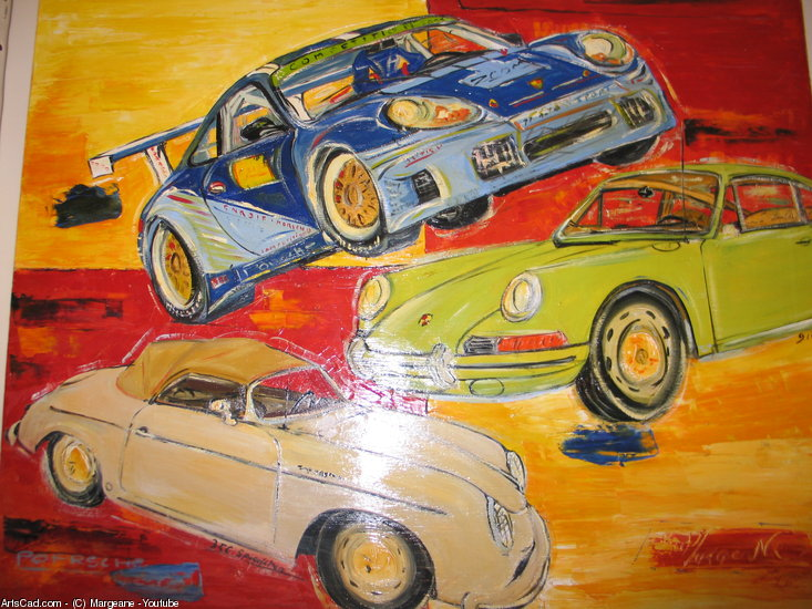 Oeuvre >> Margeane - Youtube >> PORSCHES
