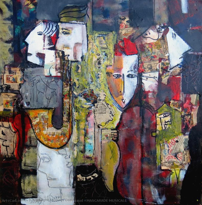 Oeuvre >> Jacques Donneaud >> MASCARADE MUSICALE