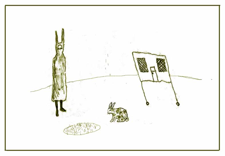 Oeuvre >> Aine Scannell >> lepus série i