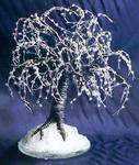 Sal Villano Wire Tree Sculpture - noirs glace  -   fil  Arborescence  sculpture