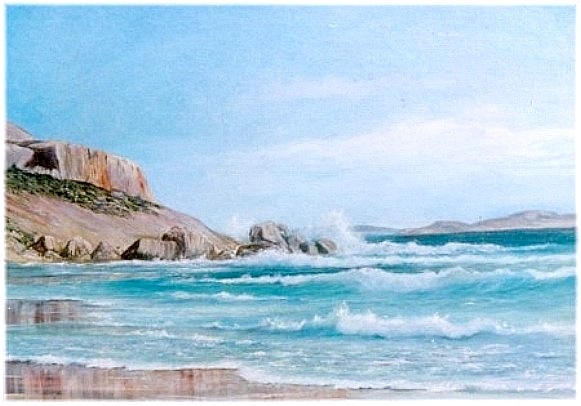 Oeuvre >> Rita Palm >> Ouest Plage , Esperance