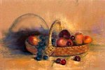 Breton Michel - Panier de fruits