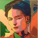 Jean-Claude Selles Brotons - Frida Khalo Artiste Mexicaine