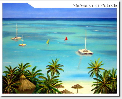 Oeuvre >> André Kock >> Paume Plage Aruba