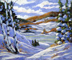 Richard T Pranke - Majestic Winter