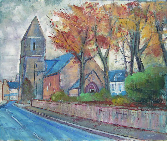 Oeuvre >> Catel Serge >> PORTBAIL l'eglise