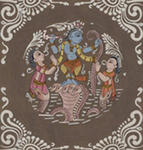 Classical Indian Art Gallery - SERPENT KALIYA