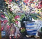 Dorothy Siclare - Bleu Pitcher