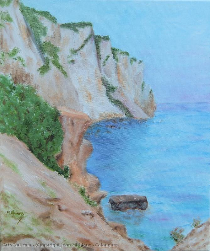 Oeuvre >> Jean Mithieux >> Calanques