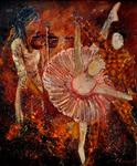 Pol Ledent - Arlequino and the ballet dancer