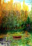 Elmadani-Artiste Peintre - The lake