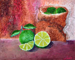 Luxo Fine Art - Le Beauty Within Série -Lime Green-