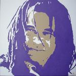 1 Portrait Pop Art - Yannick Noah
