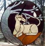 Suncatcher Creations Stained Glass - licorne