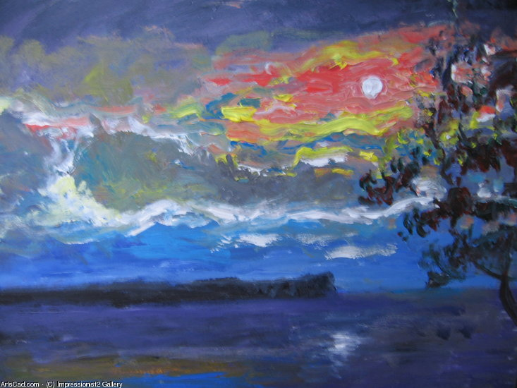 Oeuvre >> Impressionist2 Gallery >> clair de lune
