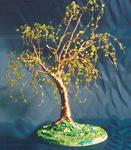 Sal Villano Wire Tree Sculpture - orme sur  batiste  -   fil  Arborescence  sculpture