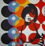 Marie C. Cudraz - 06-2006 - ROCK GIRL - Portrait POP ART