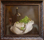 Vadim Goryanskiy Artist Painter Ukraine - Nature morte avec du vin