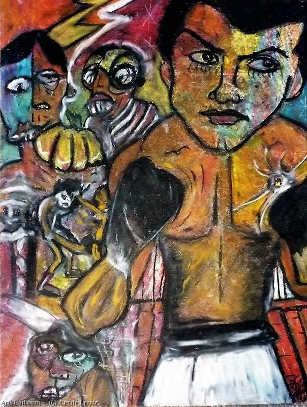 Oeuvre >> Cecile Lecoz >> Rock in boxe