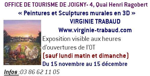 Galerie trabaud virginie oeuvres de trabaud virginie - Office du tourisme joigny ...